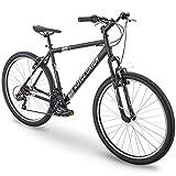 "27.5"" Royce Union RMT Mens 21-Speed All-Terrain Mountain Bike, 22"" Aluminum Frame, Twist Shift, Matte Black"