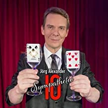 SOLOMAGIA Sympathetic Ten - Red - by Jörg Alexander - Card Tricks - Trucos Magia y la Magia - Magic Tricks and Props