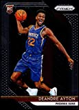 2018-19 Panini Prizm #279 Deandre Ayton RC Rookie Phoenix Suns NBA Basketball Trading Card. rookie card picture