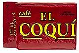 Dark Roast Espresso Coffee - from Cafe El Coquí, (6 oz) (Pack of 4) Premium Puerto Rican Ground Coffee, Vacuum Pack
