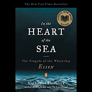 In the Heart of the Sea audiobook cover art