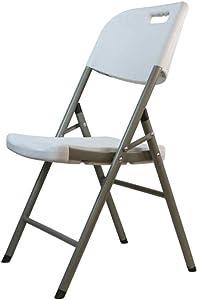 Klappstuhl-Haushalt, Der Stuhl-Freizeit-Stuhl-Trainings-Stuhl-tragbaren Konferenz-Stuhl-Tisch Und Stühle Speist ZHAOFENGE (Farbe : Weiß)