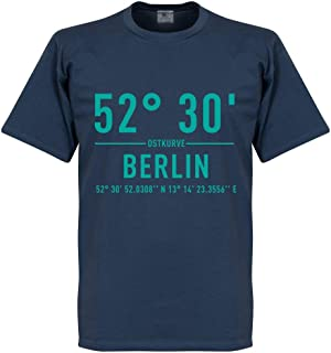 Retake Hertha Berlin Home Coordinate Tee - Denim Blue