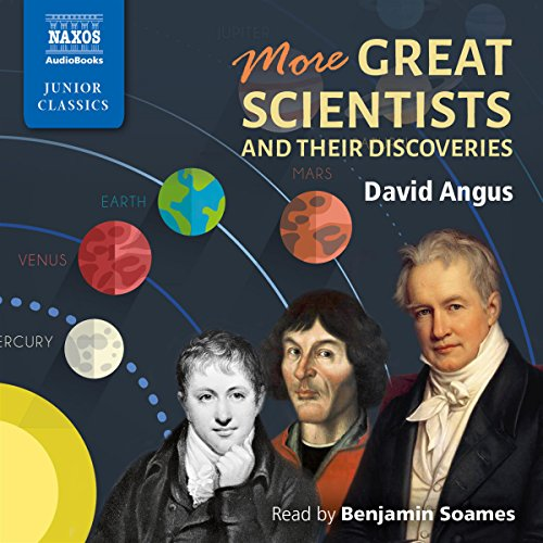 More Great Scientists and Their Discoveries audiobook cover art