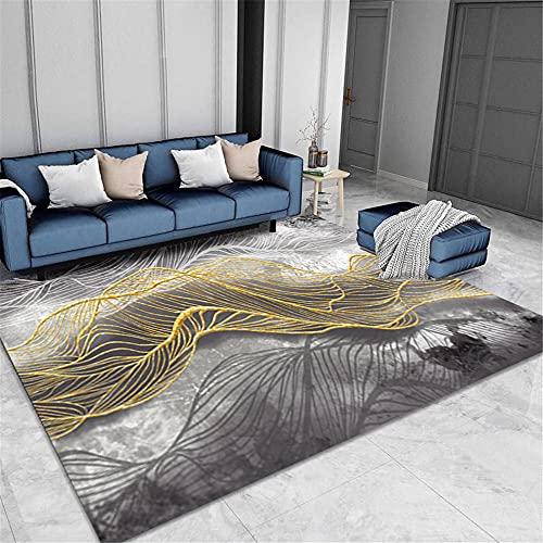 Gris Cómoda Clásico Bonito Abstracto geométrico Golden Malla decoración atmósfera Sala salón...