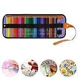 JTWEB 36/50 Colores Lápices de Colores Vivos para Dibujar Set de Arte de Lápices de Dibujo para Pintura Set Dibujo Lapices Colorear para Adultos para Artistas Adultos y Niños (50 colores)