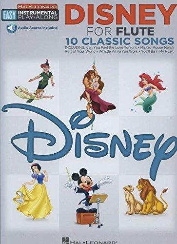 Flute Easy Instrumental Play-Along: Disney: Songbook, E-Bundle, Download (Audio) für Flöte: Book with Online Audio Tracks (Hal-leonard Easy Instrumental Play-along)