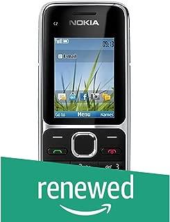 (Renewed) Nokia C2-01 (Black)