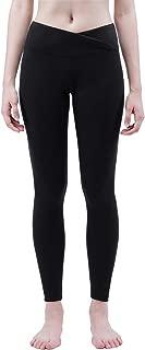 Women's Yoga Pants, V Cut High Waist Tummy Control Workout Running Non See Through Leggings, Size S-XL