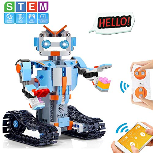 cheap HOMOFY STEM Toy Building Block Robot Children's Educational Science Kit Toy Science Learning…
