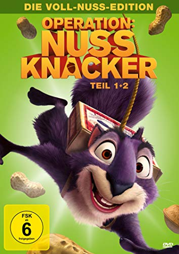 Operation Nussknacker, Teil 1+2 - Die Voll-Nuss-Edition [2 DVDs]