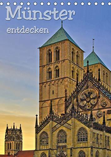Münster entdecken (Tischkalender 2021 DIN A5 hoch)