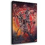 Chicago Bulls Legende Leinwand-Kunst-Poster und
