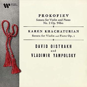 Prokofiev: Violin Sonata No. 2, Op. 94bis - K. Khachaturian: Violin Sonata, Op. 1