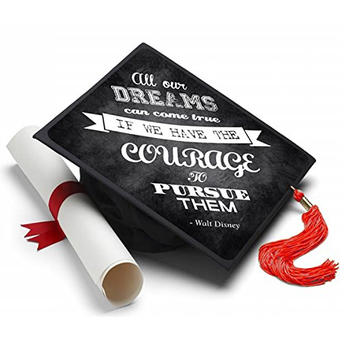 Pursue Your Dreams Graduation Cap Tassel Topper