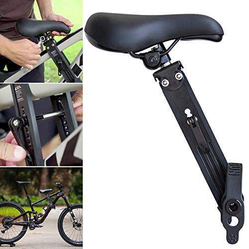 Monkys Kinderfahrradsitz, sicherer, vorne montierter Fahrradsitz Abnehmbarer Mountainbike-Kindersitz