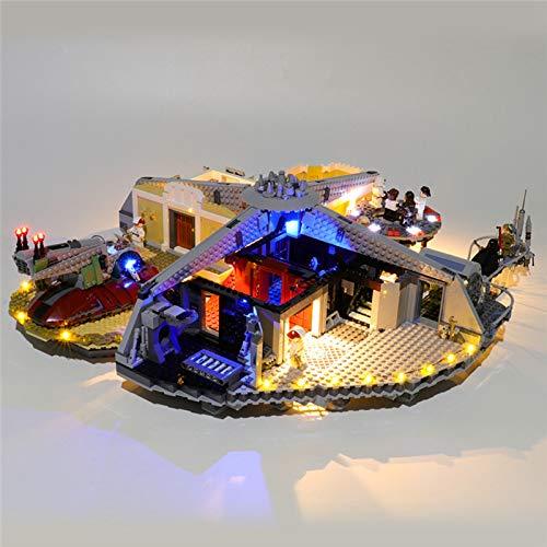 UUK USB-betriebenes Beleuchtungsset für Star Wars-Verrat bei Cloud City Building Blocks Modell, Lichtset...