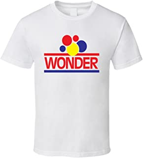 Wonder Bread Brand Food Fan T Shirt 2XL White