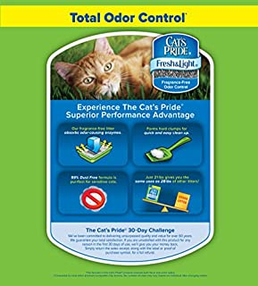 Oil-Dri Cat's Pride Fresh and Light Premium Clumping Fragrance Free Scoopable Cat Litter للبيع