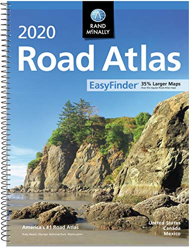Rand McNally 2020 EasyFinder Midsize Road Atlas