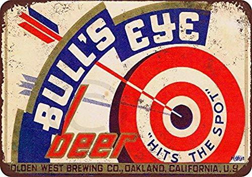 Mesllings 1980 Erlanger Bier Vintage Reproduktion Metallschild 8x12