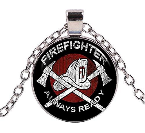 Générique Halskette Anhänger Feuerwehr Feuerwehrmann
