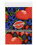 DENTAL DAM STRAWBERRY FLAVOR TRUST DAM 12 PACK by Trust