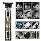 Hair Trimmer Clippers Micro Touch Titanium Trimmers with LED Display Hair Cutting for Barbers Rechargeable Cordless Professional Haircut & Grooming Kit for Men/for Women