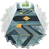 LIXIONG Alfombra Pasillo, Fibra Extrafina Lavable Antideslizante, Cortable Y FáCil Cuidado para Sala Oficina Dormitorio Cocina Comedor, Personalizable (Color : Multi-Colored, Size : 1.4x5m)