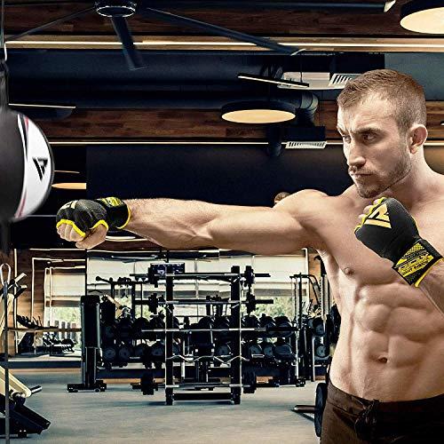RDX Boxen Elastisch Innenhandschuhe Mma Boxbandagen Handschuhe Daumenschlaufe Abbildung 2