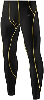 LUKEEXIN Men's Cool Dry Pants Compression Baselayer Sports Leggings