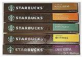 Starbucks by Nespresso Favorites Variety Pack 50 Count (International Version)