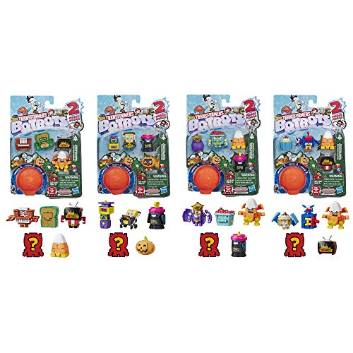 Transformers Toys Botbots Series 3 Season Greeters 5 Pack – Mystery 2-in-1 Collectible Figures! Kids Ages 5 & Up (Styles & Colors May Vary) by Hasbro