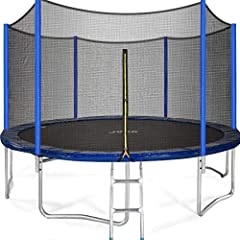 【Best Kids Trampoline】This heavy duty trampoline is the 2021 newest gift for kids and It's a great addation for you backyard. Kids love trampolines. We all know that! And for parents, trampolines hit the mark on all points - they are safe, you will b...