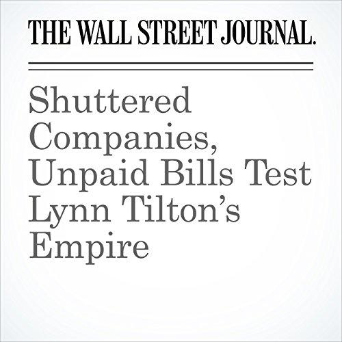 Shuttered Companies, Unpaid Bills Test Lynn Tilton's Empire copertina