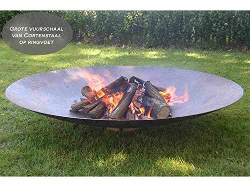 Adezz Adeco Vuurschaal XXXL Cortenstaal 150 cm