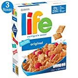Life Breakfast Cereal, Original, 13oz Boxes (3 Pack)