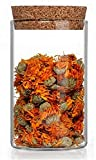 3 Botellas de deseo de vidrio transparente recipientes de vidrio frasco de vidrio con tapabocas Viales con tapas de corcho Contenedores de abalorios recipiente depósito del de cristal vacío con tapón para el almacenamiento de alimentos
