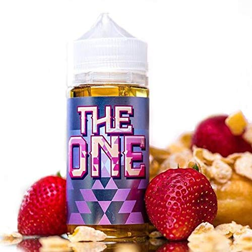 The One-Beard Vape C0. E-Liquid -100ml- Shake'n Vape- 0 mg Nikotin-70VG/30PG (Milk-Erdbeer-Milch-Donuts mit Zuckerglasur)