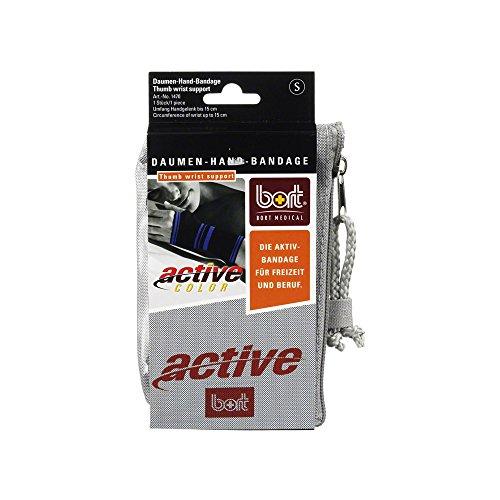bort 1470 small schwarz ActiveColor Daumen-Hand-Bandage für rechts und links gleich, small, schwarz