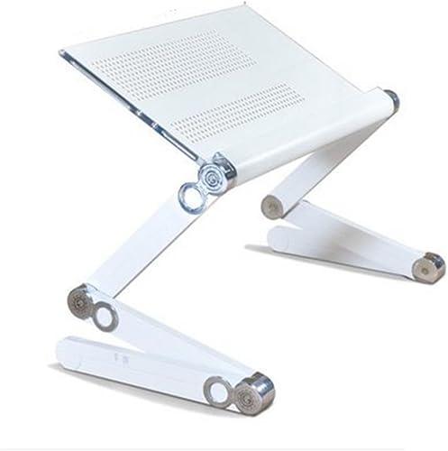 NAN Pliage d'alliage d'aluminium Simple Tables d'ordinateur Portable (Couleur   3, Taille   52cm)