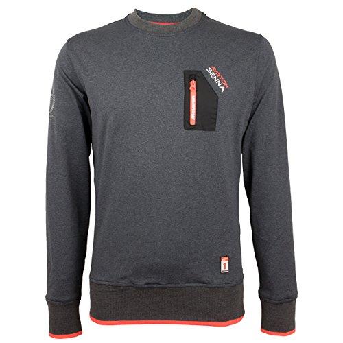 MBA-SPORT Ayrton Senna McLaren Sweatshirt Three Times World Champion