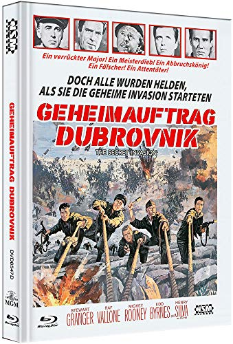 Geheimauftrag Dubrovnik - The Secret Invasion [Blu-Ray+DVD] - uncut - limitiertes Mediabook Cover D