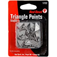 150-Count Red Devil Glazing Triangle Points