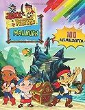 Jake und die Nimmerland Piraten Malbuch: Malbuch Mit Stickern +50 Malvorlagen für Kinder und Erwachsene, +50 Amazing.
