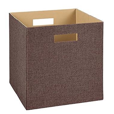 ClosetMaid 7115 Decorative Fabric Storage Bin, Brown
