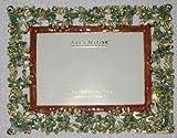 Argento SC cristales de Swarovski marco de fotos 3x 5'H