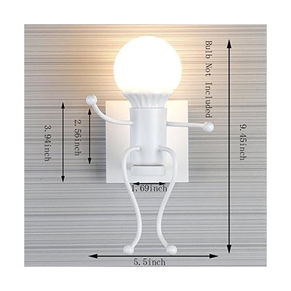 FSTH-Retro-Eisen-WandLeuchten-Kreative-Vintage-WandLeuchten-Modern-Decor-Metall-Nachttischlampe-Wandleuchten-Beleuchtung-Fr-Bar-Schlafzimmer-Kche-Restaurant-Caf-Flur-Schwarz-E27