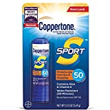 Coppertone Sport Sunscreen Lip Balm Broad Spectrum SPF 50 (0.13 Ounce) (Packaging May Vary...