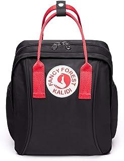 KALIDI Kinderrucksack Babytasche minirucksack für 1-4 Jährige Jungen und Mädchen im Kindergarten, Schwarz